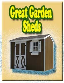Great Garden Sheds